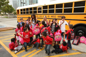 Disney Goes Back to School with Families
