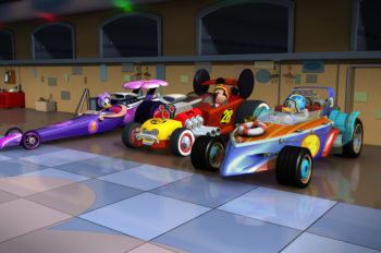 'Mickey and the Roadster Racers' Debut is No. 1 Cable Telecast Since 2015 in Key Demographics