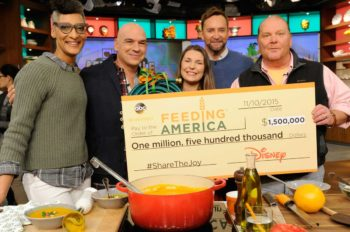 Disney Donates $1.5 Million to Feeding America to Promote Nationwide Access to More Nutritious Foods