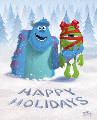 Merry Christmas Disney.Merry Christmas From The Walt Disney Company The Walt