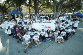 Disney VoluntEARS Show Support for Education at UNCF Los Angeles Walk