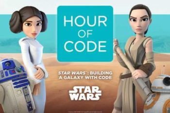 Code.org, Disney, and Lucasfilm Broaden Participation in Science with Star Wars™ Hour of Code Tutorial