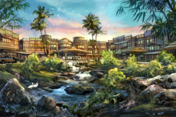 Hong Kong Disneyland Breaks Ground on Disney Explorers Lodge