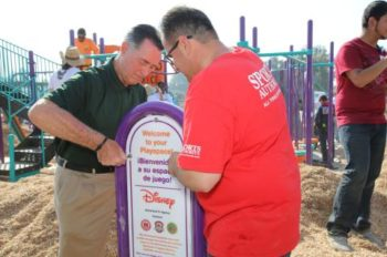 Disney Teams Up with KaBOOM! on New Playground in McFarland, California