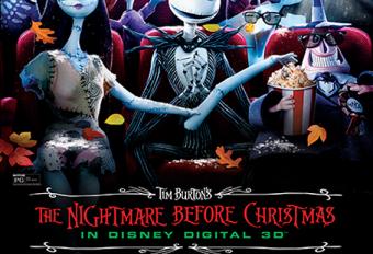 Tim Burton's 'The Nightmare Before Christmas' Returns to Theaters
