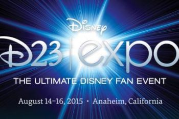 D23 Expo Returns to Anaheim August 14-16, 2015