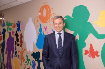 Bob Iger Dedicates Disney Murals at Blank Children's Hospital in Des Moines, Iowa