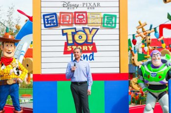 Disney•Pixar Toy Story Land Debuts at Shanghai Disneyland Today