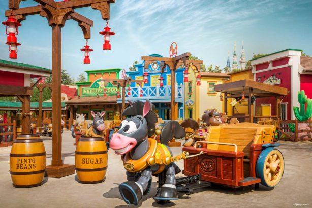 Disney Pixar Toy Story Land Debuts At Shanghai Disneyland Today