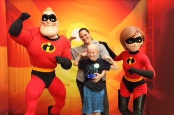 An Incredible Team of Heroes Visits Children's Hospital of Philadelphia