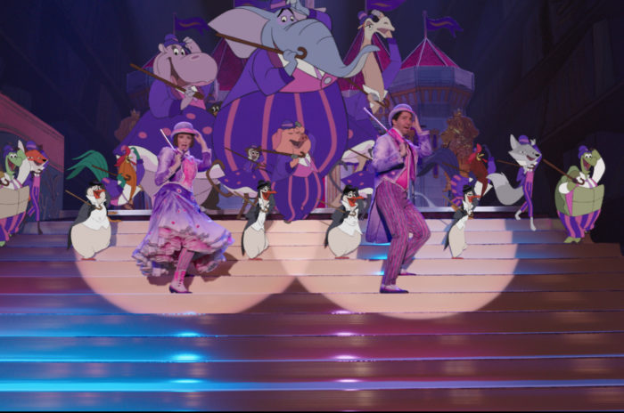 artists create new magic through classic animation in mary poppins return