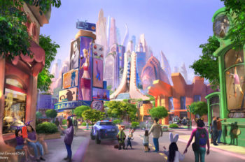 New Zootopia-Themed Expansion Announced for Shanghai Disney Resort