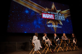 Disney Celebrates 'Captain Marvel' and International Women's Day on the Studio Lot