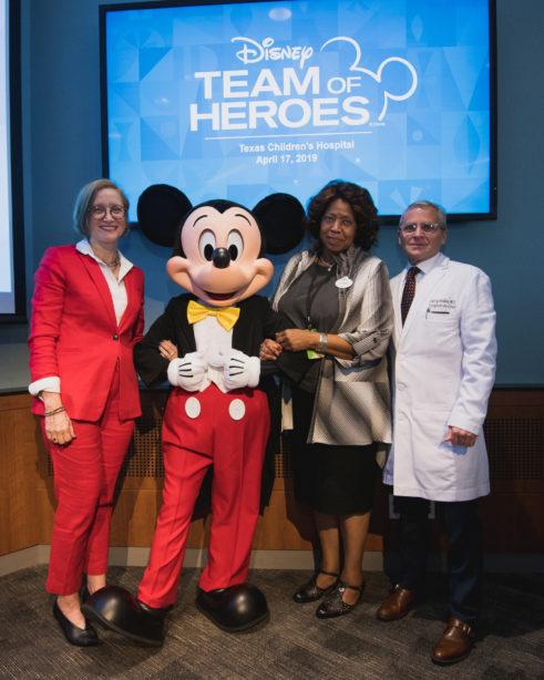Disney Team Of Heroes Debuts Innovative Experiences At Texas Children S Hospital The Walt Disney Company