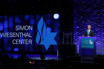 Disney Chairman and CEO Bob Iger Receives Simon Wiesenthal Center's Humanitarian Award