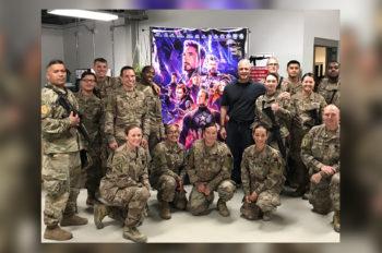 Disney Brings 'Avengers: Endgame' to Troops in Afghanistan