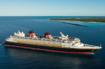 "Disney Cruise Line Named ""World's Best"" by 'Travel + Leisure' Readers"