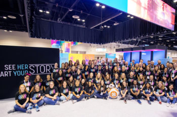 Disney Stories and Technology Shine at 2019 Grace Hopper Celebration of Women in Computing