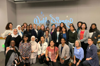 Disney Storytelling and Innovation Inspire Participants in U.S. State Department's Hidden No More Exchange Program