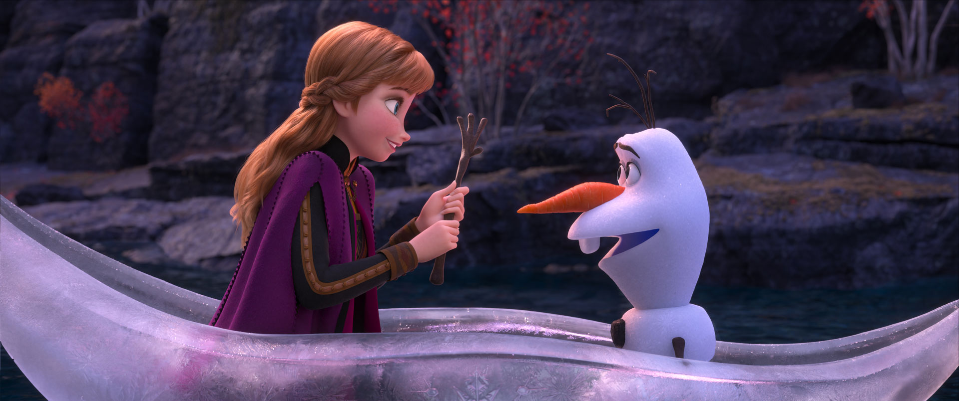 Art And Technology Together Drive Frozen 2 Filmmakers Incredible Leap Into The Unknown The Walt Disney Company