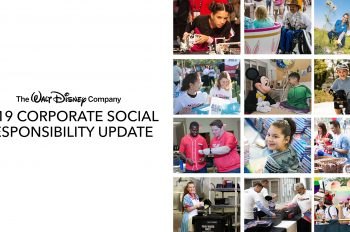 Disney Publishes its 2019 Corporate Responsibility Report