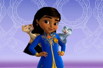 Disney Junior Debuts 'Mira, Royal Detective' Today in the U.S. and India