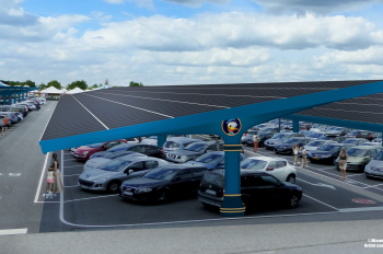 Disneyland Paris Embarks on One of the Largest Solar Canopy Energy Projects in Europe