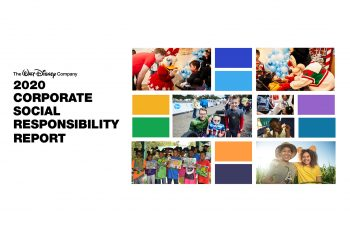 Disney Releases 2020 Corporate Social Responsibility Report