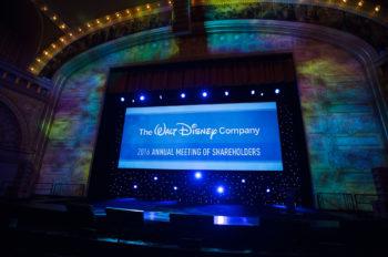 Disney's 2016 Annual Meeting of Shareholders