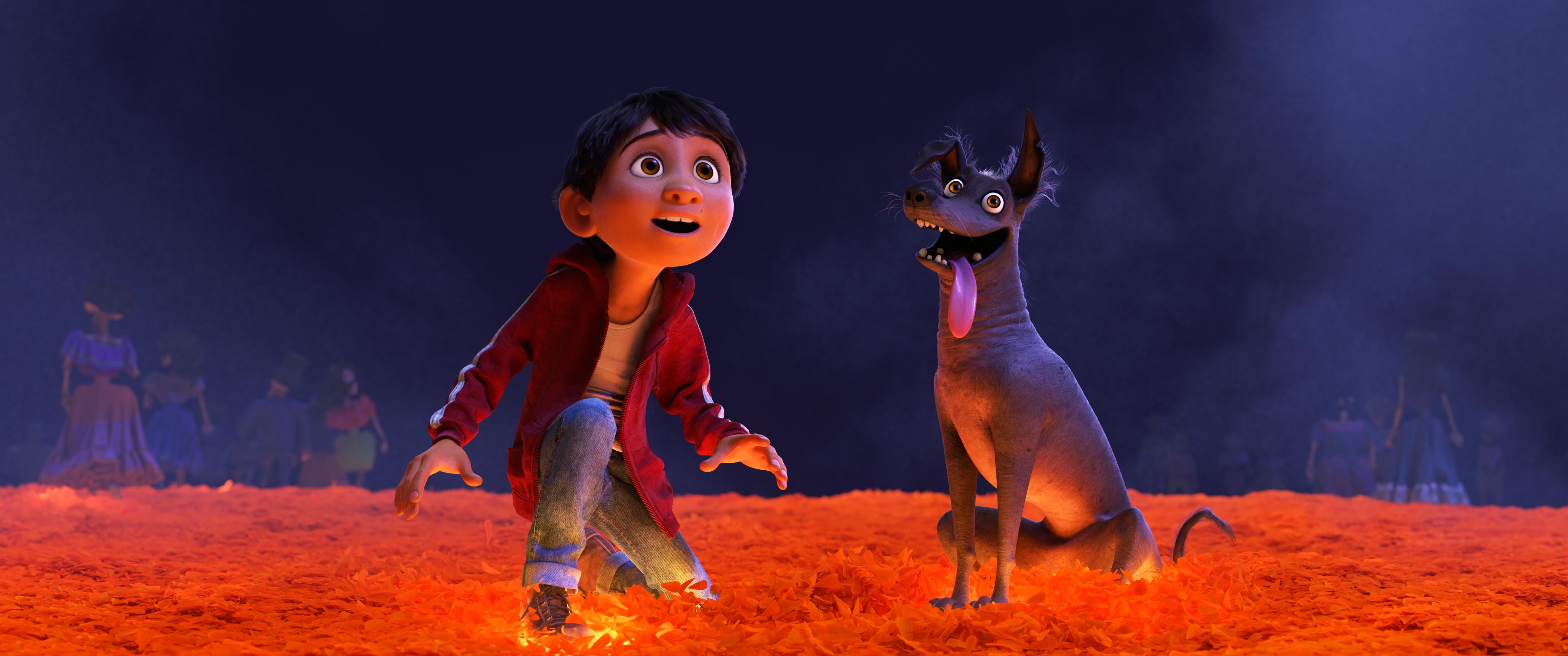 Disney Pixar S Coco Presents Dante S Lunch A Short Tail