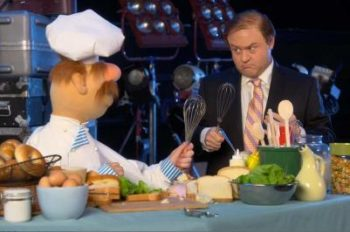 Before 'The Muppets' Premieres on ABC Tonight, They Teamed with ESPN's Caliendo on 'Countdown'