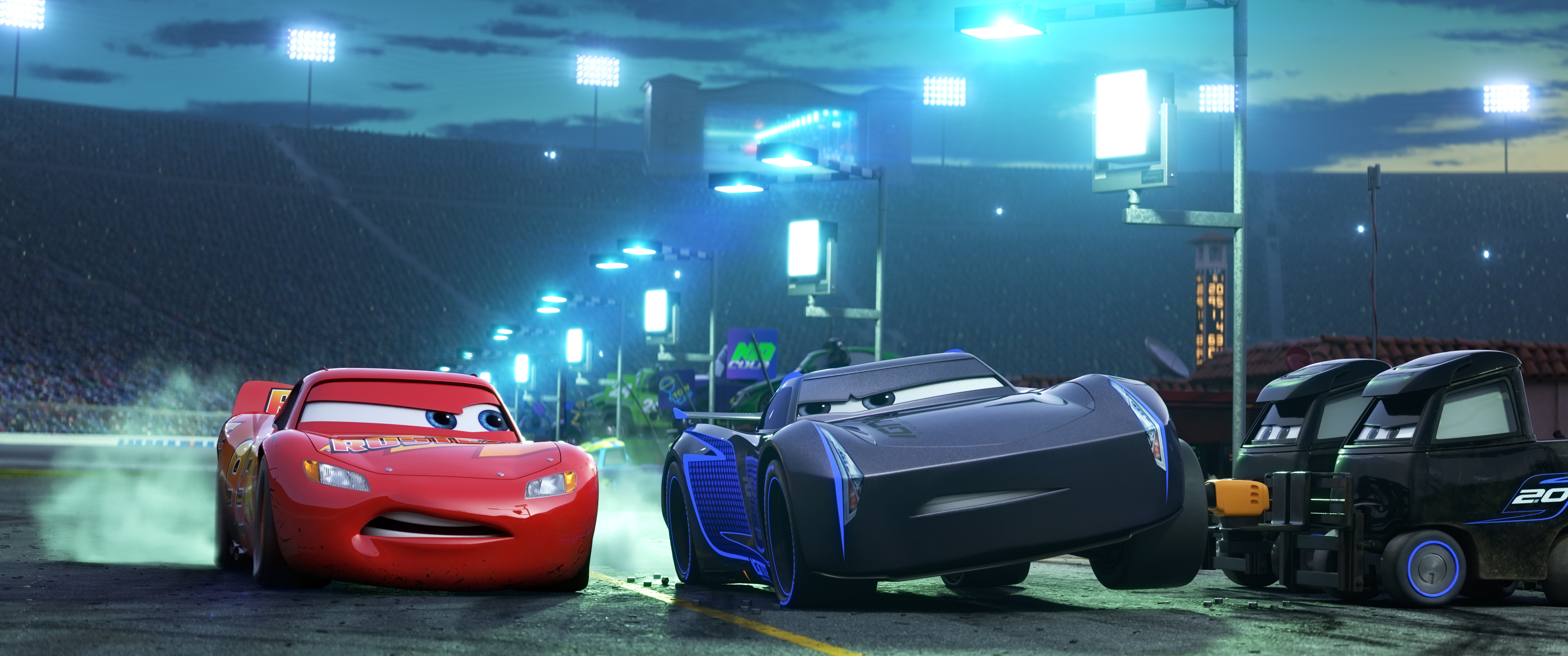 Pixar Pushed Technology to Paint the Cars in 'Cars 3' - The Walt