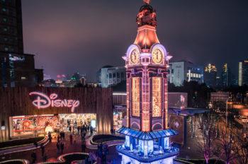 New Clock Tower Debuts at Shanghai Disney Store Plaza
