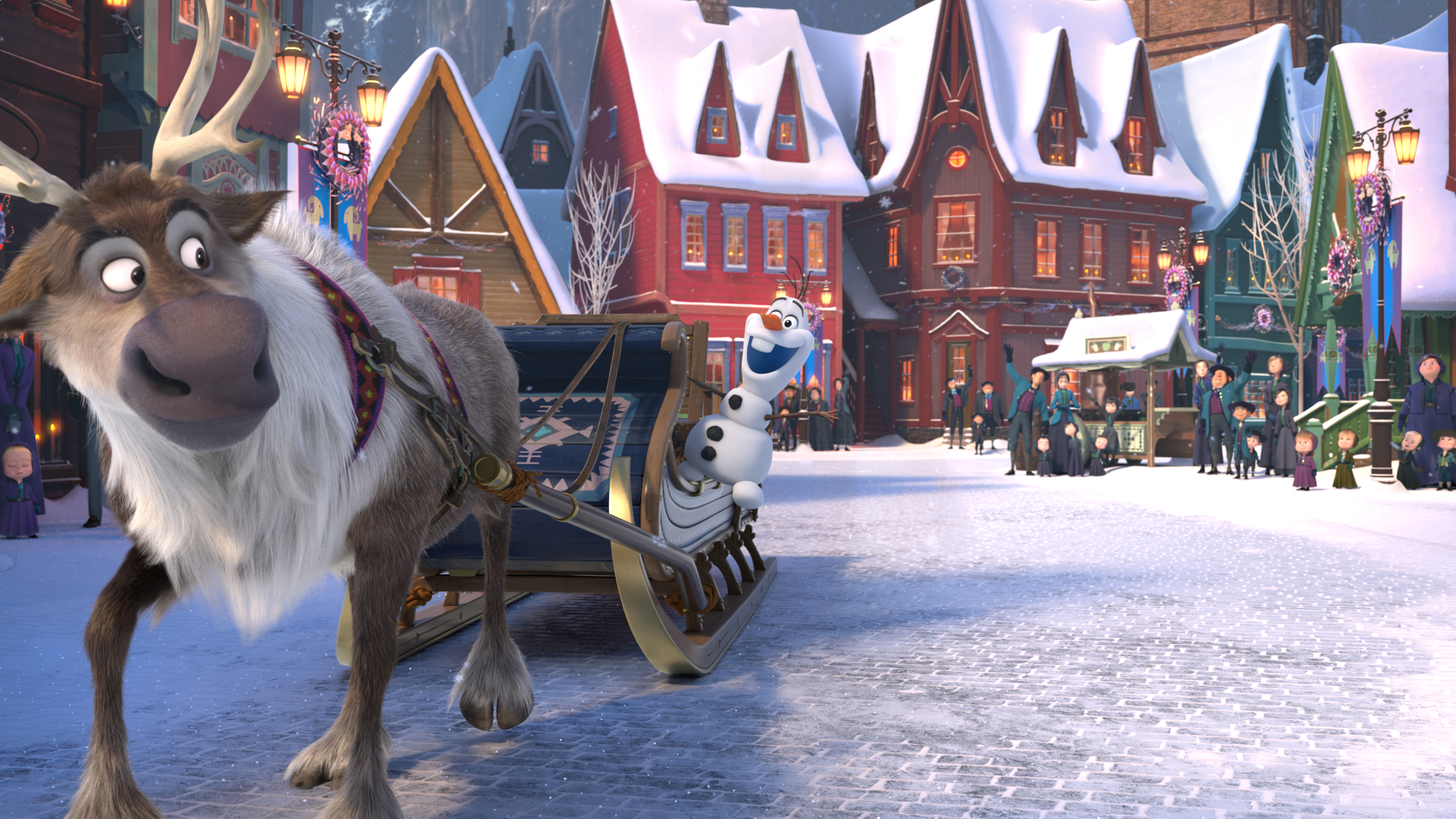 First Look at 'Olaf's Frozen Adventure'