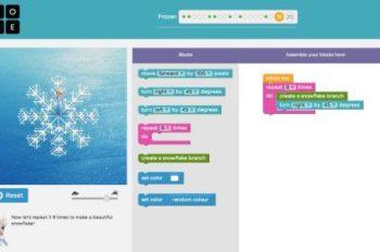 Code.org Releases 'Frozen' Hour of Code Tutorial