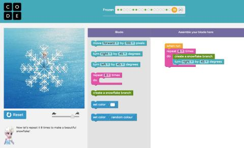 Code-Org-Screenshot-Frozen-Elsa-1