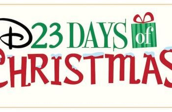 Celebrate the Holidays with D23 Days of Christmas