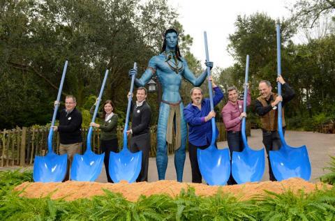 Construction Begins For Avatar Inspired Land At Disney S Animal