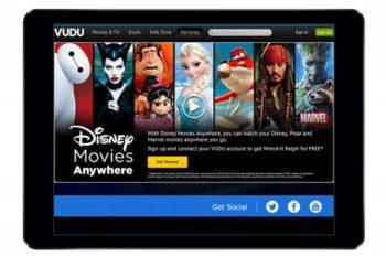 Walmart's VUDU Joins 'Disney Movies Anywhere'