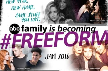 ABC Family Officially Becomes Freeform on January 12