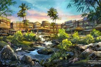 Hong Kong Disneyland Announces Plan for New Hotel