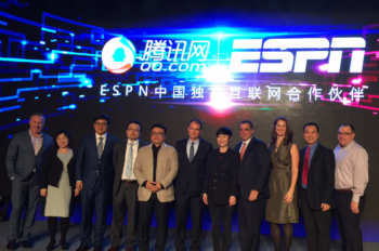 ESPN and Tencent Announce Exclusive Digital Partnership in China