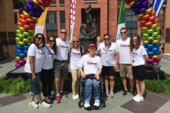 ESPN Employees Are Honored to be Among 30 Disney VoluntEARS at 2015 Special Olympics