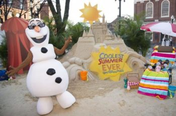 "Sand Castle in the Snow Announces 24-Hour Event To Kick Off ""Coolest Summer Ever"" at Walt Disney World Resort"