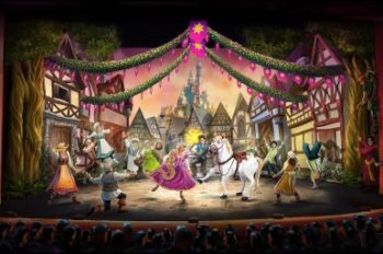 The Magic of 'Tangled' Shines Onstage in Brand-New 'Tangled: The Musical' Stage Show Aboard Disney Cruise Line