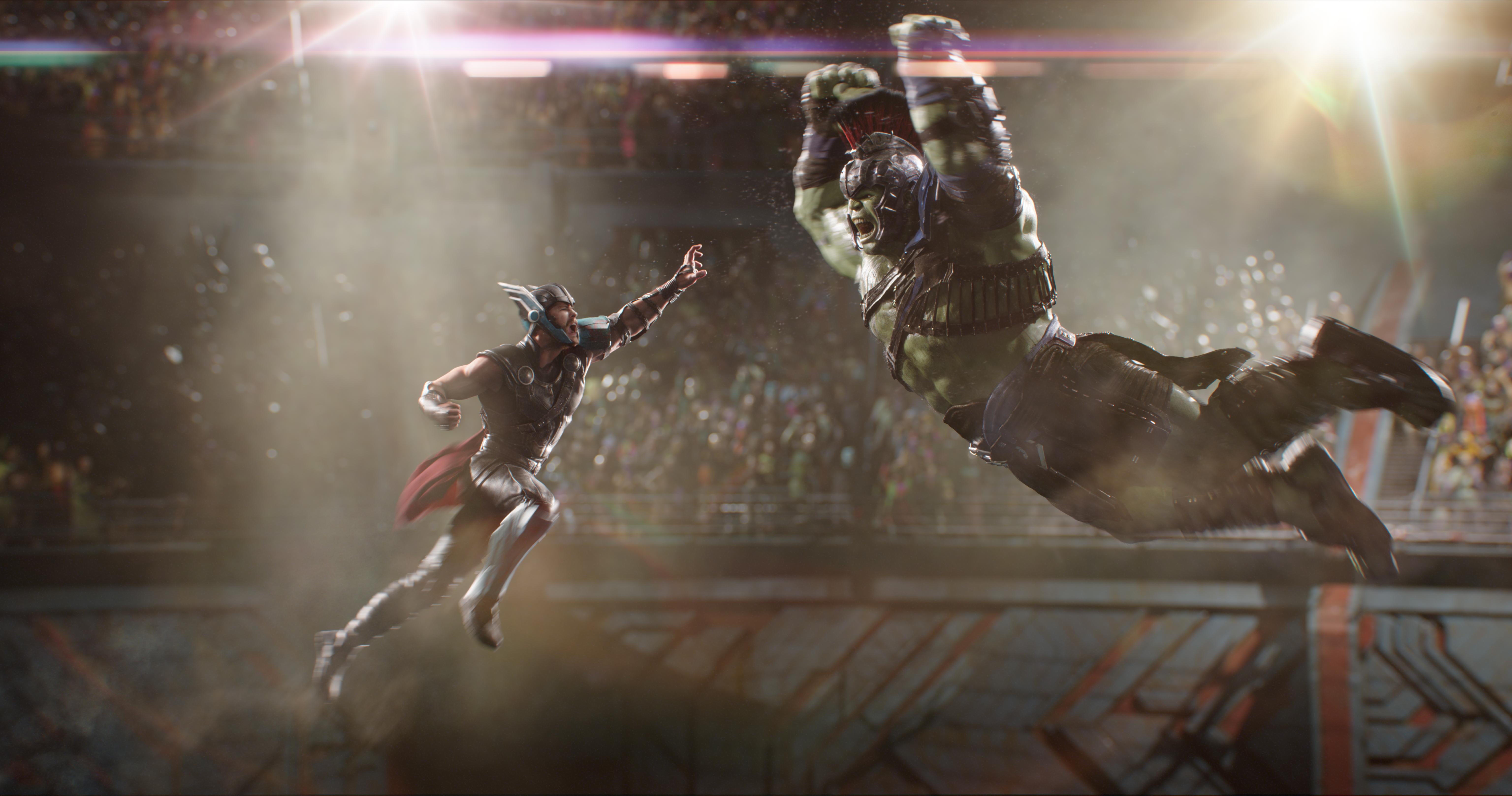 Mighty $122.7 Million Domestic Debut for Marvel Studios''Thor: Ragnarok'