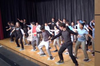 "Disney Theatrical's ""Get Up and Go"" Features Dance Tutorial From Broadway's 'Newsies'"