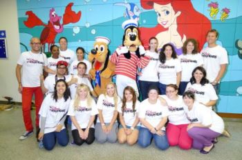 Walt Disney Parks and Resorts Paints a Brighter Day in Children's Hospitals Around the World