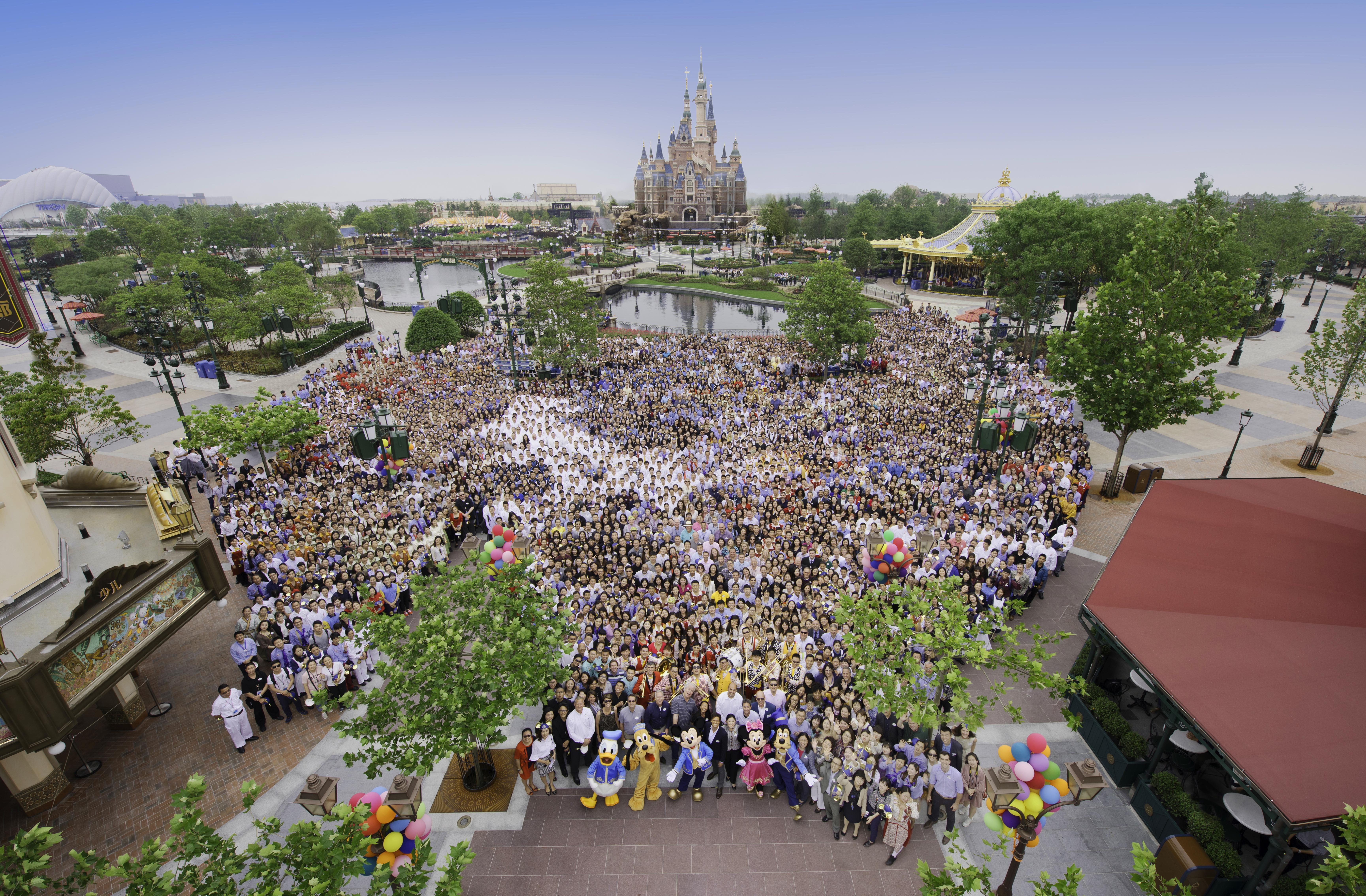 Shanghai Disney Resort Named 2017 China Best Employer