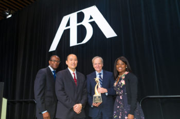 Alan Braverman Receives American Bar Association's 2018 Spirit of Excellence Award